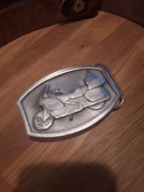 Belt Buckle Goldwing with Leather Belt in Alamogordo, New Mexico