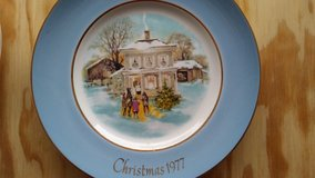 Christmas Avon plates in Spring, Texas
