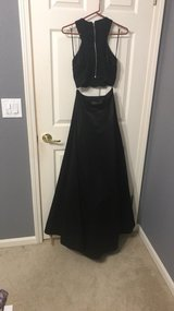Two Piece Black Prom Dress in Gilroy, California