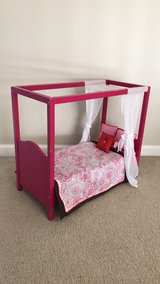 Our Generation Canopy Bed for American Girl Dolls in Aurora, Illinois