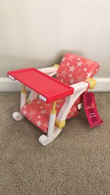 Our Generation Doll Clip On High Chair for American Girl Dolls in Naperville, Illinois