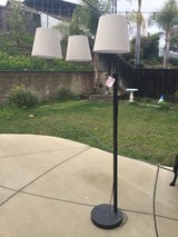 Like-New 3-Way Allen Roth Floor Lamp, in Corona in Riverside, California
