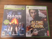 Mass Effect and Alone in the Dark for Xbox 360 in Wiesbaden, GE