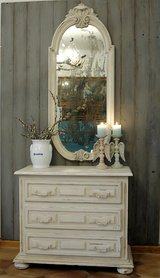Shabby Chic Dresser & Mirror in Ramstein, Germany