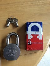 American Steel Ball Padlock in Naperville, Illinois