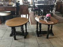 set of 2 elegant side tables that fold out in Ramstein, Germany