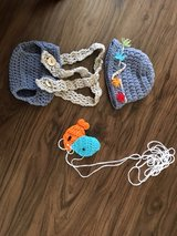 baby Crochet Fishing Outfit in Naperville, Illinois