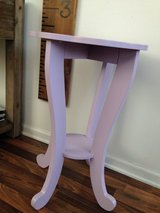 Purple table/nighstand in Oswego, Illinois