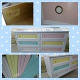 Dresser with Changeable Color Panels in Aurora, Illinois
