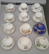 Tea Cups and Saucers (Twelve) in Yucca Valley, California