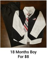 18m Boys Easter outfit in Fort Campbell, Kentucky