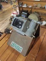 Vintage film magnifying projector in Fort Campbell, Kentucky