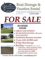 Boat Storage & Vacation Rental (Green River-Campbellsville,KY) in Elizabethtown, Kentucky