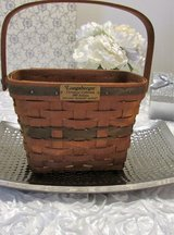 Longaberger Christmas Collection 1989 Holiday Memory Green Basket in Westmont, Illinois