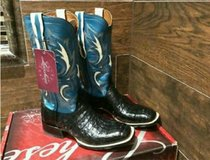 """LUCCHESE"""""""" CAIMAN BELLY. NEW IN BOX in Converse, Texas"""