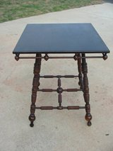 Antique Oak Victorian Lamp Table in Oceanside, California