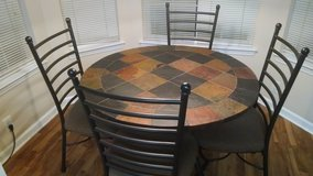 "45"" Round Stone Top table from Ashley in Wilmington, North Carolina"