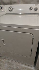 WHIRLPOOL DRYER . . .EXCELLENT CONDITION 90DAY WARRANTY . .FREE LOCAL DELIVERY . .910 550 4038 in Wilmington, North Carolina