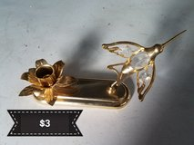 Hummingbird candle holder in Travis AFB, California