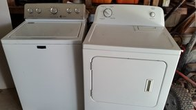 Washer and dryer Maytag washer and Roper dryer electric in Fort Leonard Wood, Missouri