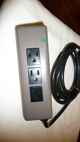 Steel Cased 3-outlet Fused power strip in Okinawa, Japan