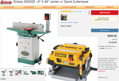 Woodworking Tools - Planer, Jointer, Hand tools in Rolla, Missouri