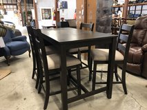 Counter Height table with 4 chairs and storage in Hopkinsville, Kentucky