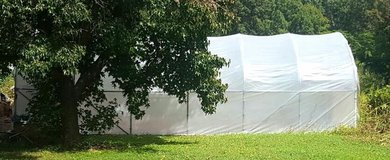 Greenhouse 21' x 36' comes with all the goods to use right away in Fort Leonard Wood, Missouri