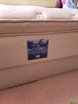 full size mattress and box spring in Shorewood, Illinois