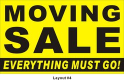 We are Moving! Inside Home Moving Sale Friday March 16th  10 am in Shorewood, Illinois
