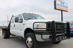 """2006 Ford F-350 Crew Cab Flatbed 4X4 """"Southern Truck"""" #10755 in Elizabethtown, Kentucky"""