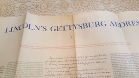Lincoln's Gettysburg Address in Glendale Heights, Illinois