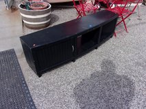 Large Black Television Stand in Fort Riley, Kansas