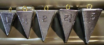 Pyramid Sinkers - Assorted Sizes in Fort Leonard Wood, Missouri
