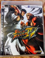 Street Fighter IV PS3 in Travis AFB, California