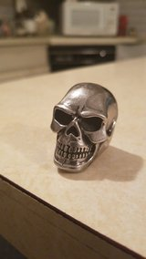 BIG skull ring in Philadelphia, Pennsylvania