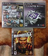 Grand Theft Auto, Saints Row 3 & Mercenaries 2 in Vacaville, California