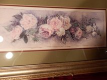 "28 x 16"" Rose Picture with Green Mat. in Chicago, Illinois"