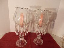 "Pair of 14"" candle holders with prisms in Chicago, Illinois"