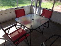Patio Table w/ 3 chairs in Spring, Texas