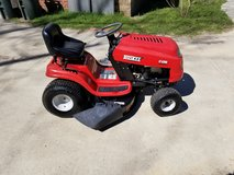 Huskee 42 Inch Cut Riding Lawn Mower! in Byron, Georgia