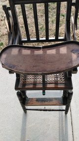 Antique high chair in Fort Knox, Kentucky
