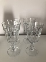 A set of four wine/desert glasses in Ramstein, Germany