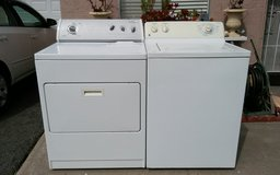 Washer and electric dryer set in Camp Pendleton, California