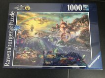 Brand new little mermaid puzzle in Ramstein, Germany