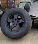 4 Jeep wheels and tires in Fort Campbell, Kentucky
