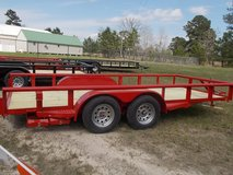 Stagecoach 83x16 Trailer in Leesville, Louisiana