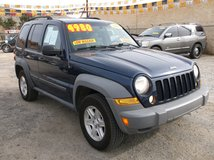 "2007 JEEP LIBERTY V6 MANUAL 6 SPD 2WD ..' LOADED ' LOW MILES ""......$4980 in 29 Palms, California"