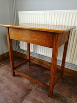 Solid Oak Side Table in Lakenheath, UK