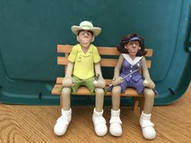 D. Manning Golf Shelf Sitters with Wooden Bench in Kingwood, Texas